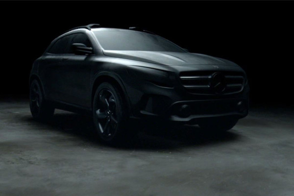 Commercial Mercedes «Shaped by sensation»